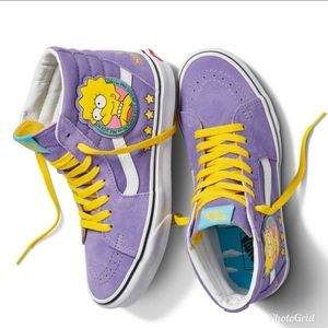 Vans Simpsons Lisa 4 Prez Sk8 Hi mens sz 12